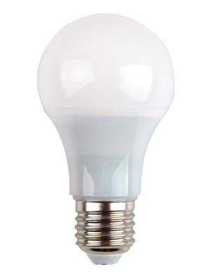Ampoule LED - 7W 230V E27 A60 - Thermoplastique - Blanc froid