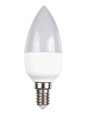 Ampoule LED - 5W 230V E14 - Bougie - Blanc chaud dimmable