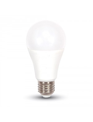 Ampoule LED 9W 230V E27 A60 - Thermoplastique - Blanc Chaud