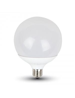 Ampoule LED 18W 230V E27 G120 - Blanc Chaud