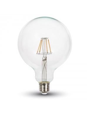 Ampoule LED 10W 230V E27 G125 - Blanc Chaud