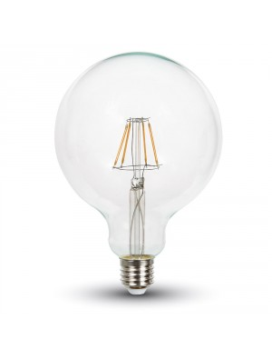 Ampoule LED 10W 230V E27 G125 - Blanc Froid