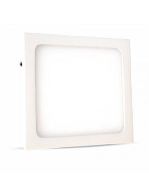 Panneau LED premium 6W 230V - Carré - Blanc naturel