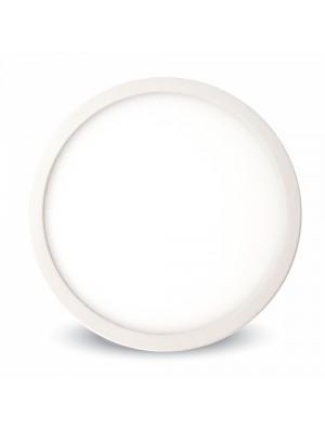Panneau LED premium 12W 230V - Rond - Blanc naturel
