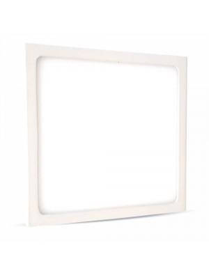 Panneau LED premium 12W 230V - Carré - Blanc chaud