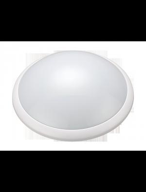 Plafonnier LED d'extérieur avec détecteur équivalence 60W MICRO-ONDES E27 - Blanc froid