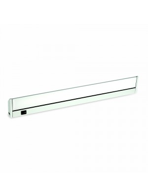 Tube cabinet LED 10W - 60 cm - Blanc chaud