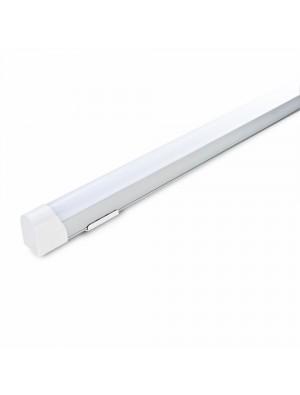 Tube de surface LED T8 10W - 60 cm - Blanc chaud