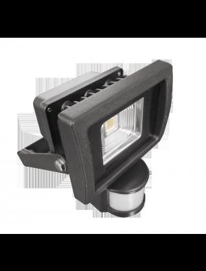 Projecteur LED 10W - Avec Détecteur Premium - Blanc chaud