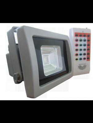 Projecteur LED 10W - Classique Premium RGB avec télécommande infrarouge