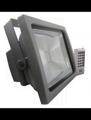 Projecteur LED 50W - Classique Premium RGB avec télécommande radio