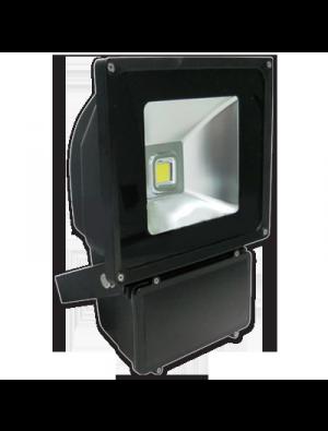 Projecteur LED 100W - Classique Premium - En graphite - Blanc chaud