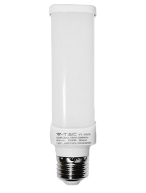 Ampoule LED 10W 230V E27 PL - Verre - Blanc Naturel
