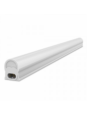 Tube LED T5 4W - 30 cm - Montage batten - Blanc chaud