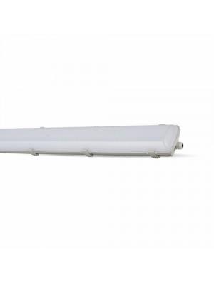 Tube (réglette) étanche LED d'urgence 58W 150cm - Blanc froid