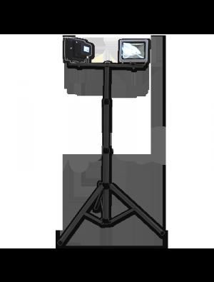 Trépied pour Projecteurs couleur noir