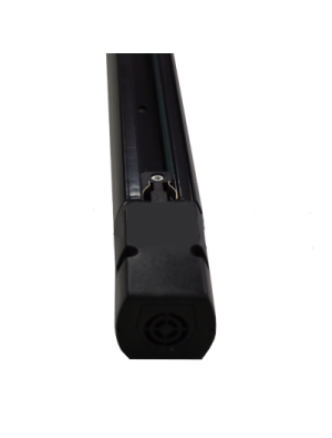 1 Mètre noyau rail 4 Noir