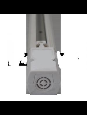 1 Mètre noyau rail 4 blanc