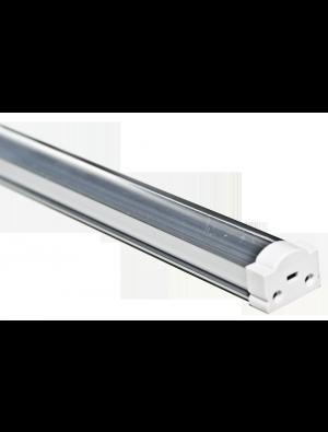 Profil d'aluminium de Cap étroit et rond transparent