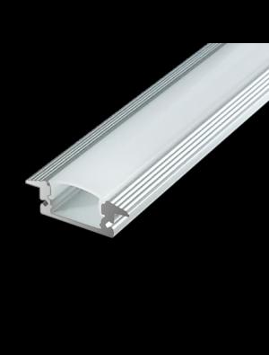 Profil d'aluminium au coin MILKY 100cm