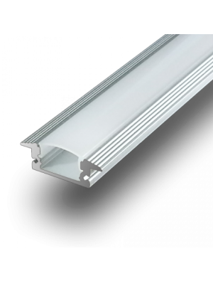 Profil d'aluminium au coin MILKY 200cm