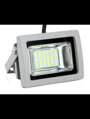 Projecteur LED 20W - Classic PREMIUM Gris - Blanc chaud