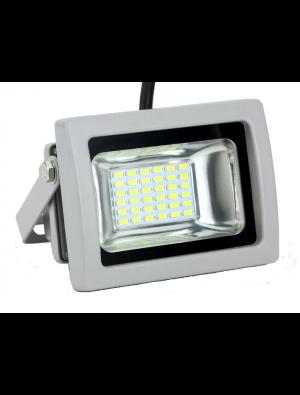 Projecteur LED 10W - Classic PREMIUM Gris - Blanc froid