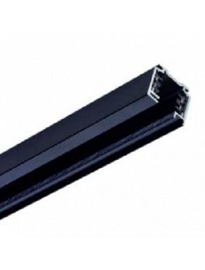 Support kit 1m / 4core pour les lampes rail - Noir