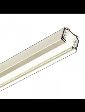 Support kit 1m / 4core pour les lampes rail - Blanc