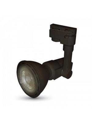 Support 4 core pour les lampes E27 - Noir