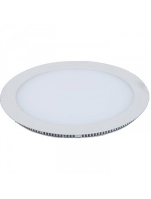 Panneau LED 18W 230V - Rond - Blanc froid
