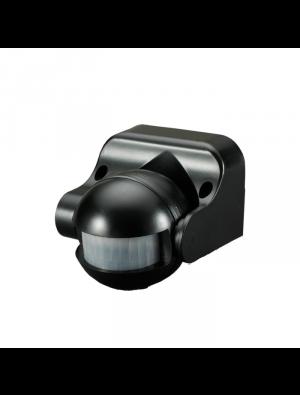 Détecteur de mouvements infrarouge pour mur - noir