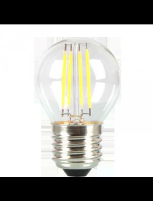 Ampoule LED 4W 230V E27 G45 - Verre - Blanc Chaud