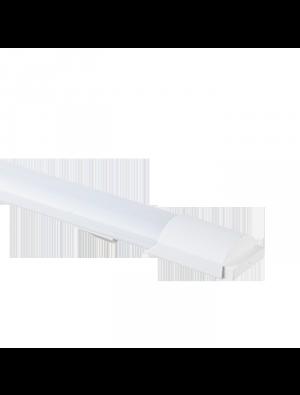 Tube LED 36W Aluminum Grill montage 120cm - Blanc naturel
