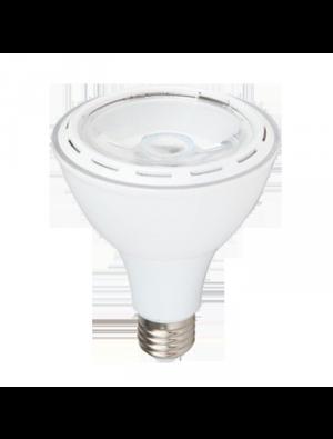 Ampoule LED 12W 230V E27 - Plastique - Blanc Chaud