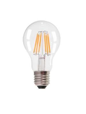 Ampoule LED 6W 230V E27 - Verre - Blanc naturel