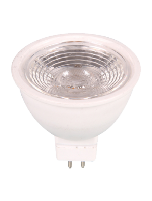 Spot LED 7W MR16 (GU5.3) 12V - En plastique - Blanc chaud