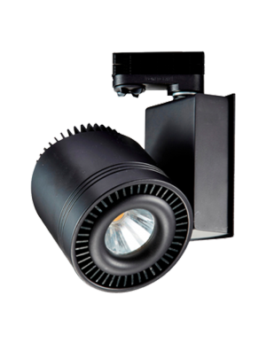 Lampe rail LED COB 33W - Noir - Blanc froid