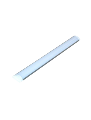 Tube LED 10W Aluminum Grill montage 30cm - Blanc chaud
