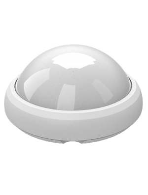 Dôme LED lumineux 12W - Rond Blanc - Blanc chaud