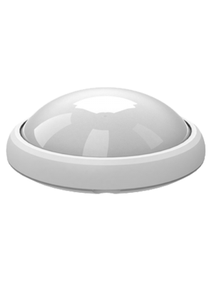 Dôme oval LED lumineux 12W - Rond Blanc - Blanc froid