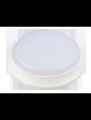 Dôme Lumière d'urgence LED 17W - Blanc froid