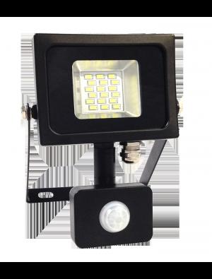 Projecteur LED 10W SMD PIR - Avec détecteur - Blanc naturel