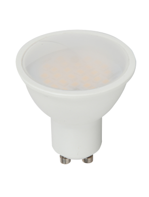 Spot LED 7W GU10 220V - Plastique - Blanc chaud dimmable