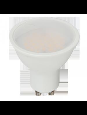 Spot LED 7W GU10 220V - Plastique SMD - Blanc chaud