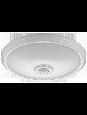 Dôme LED lumineux 12W - Avec Détecteur - Blanc chaud