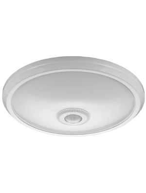 Dôme LED lumineux 12W - Avec Détecteur - Blanc naturel