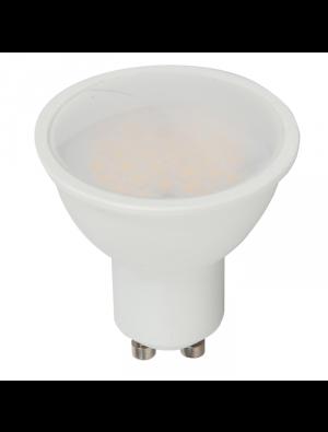 Spot LED 5W GU10 220V - Plastique SMD - Blanc naturel