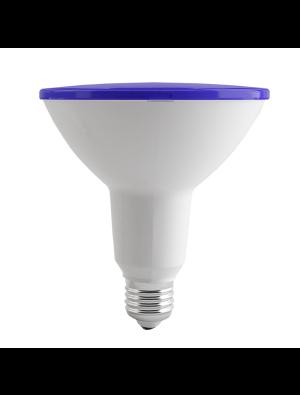 Ampoule LED 15W 230V PAR18 E27 IP65 - Bleu