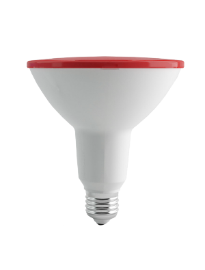 Ampoule LED 15W 230V PAR18 E27 IP65 - Rouge